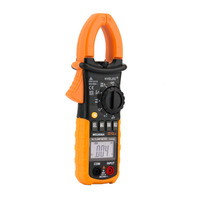 1 Pc Digital Clamp Meter DC AC Volt AC Amp Ohm Tester MS2008A 2000 Counts LCD