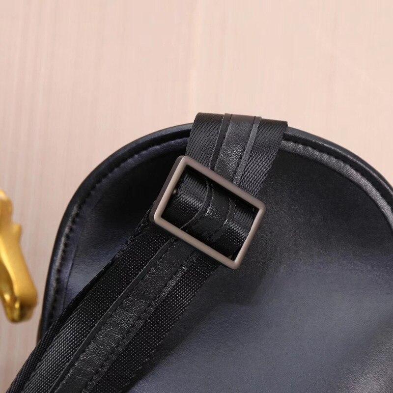 dos homens bolsa de ombro único peito envolto moda inclinado saco