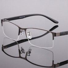 Full frame Metal Glasses Frame Comfortable Steel Plate Optical Eyeglasses Frames Men High Quality Prescription Eyewear 8063