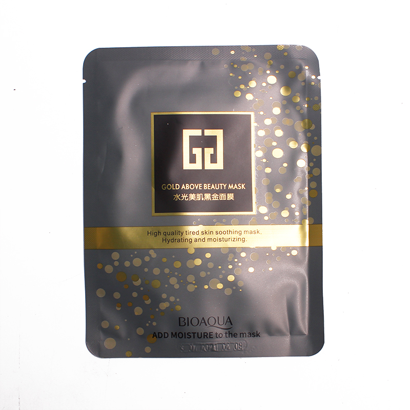 10PCS Gold Above Beauty Mask For Skin Moisturizing and Hydrating Face Massage Health Care Product