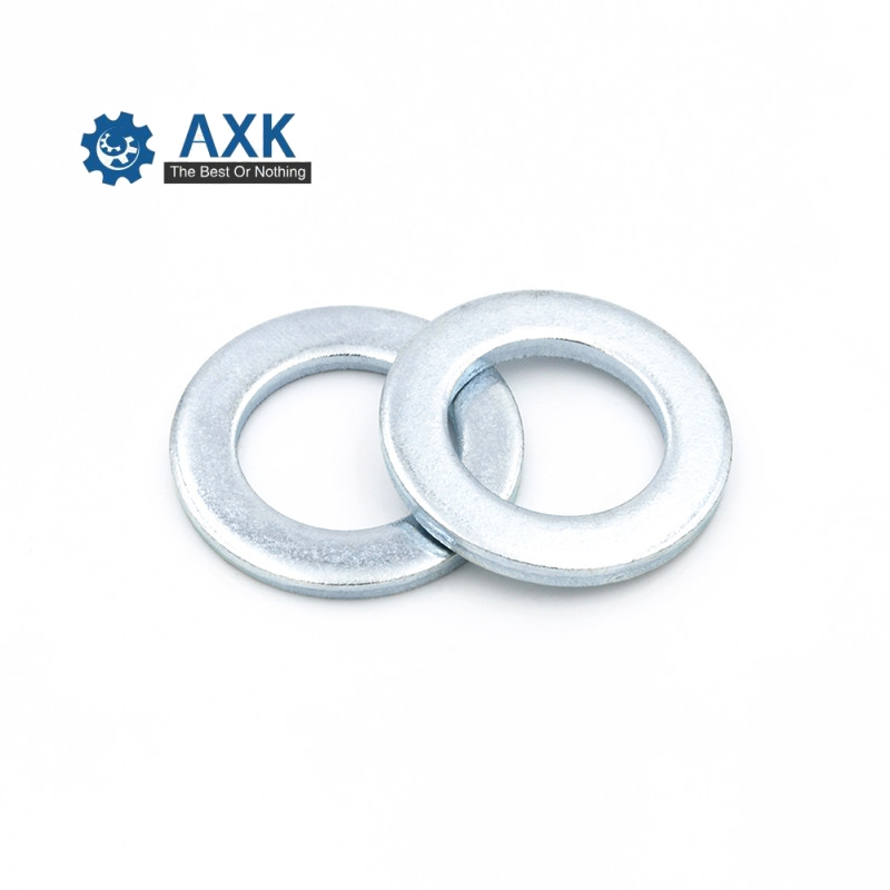 100pcs/lot DIN433 Stainless steel small flat washer plain washers M1 M1.2 M1.4 M1.6 M2 M2.5 M3 M3.5 M4 M5 M6