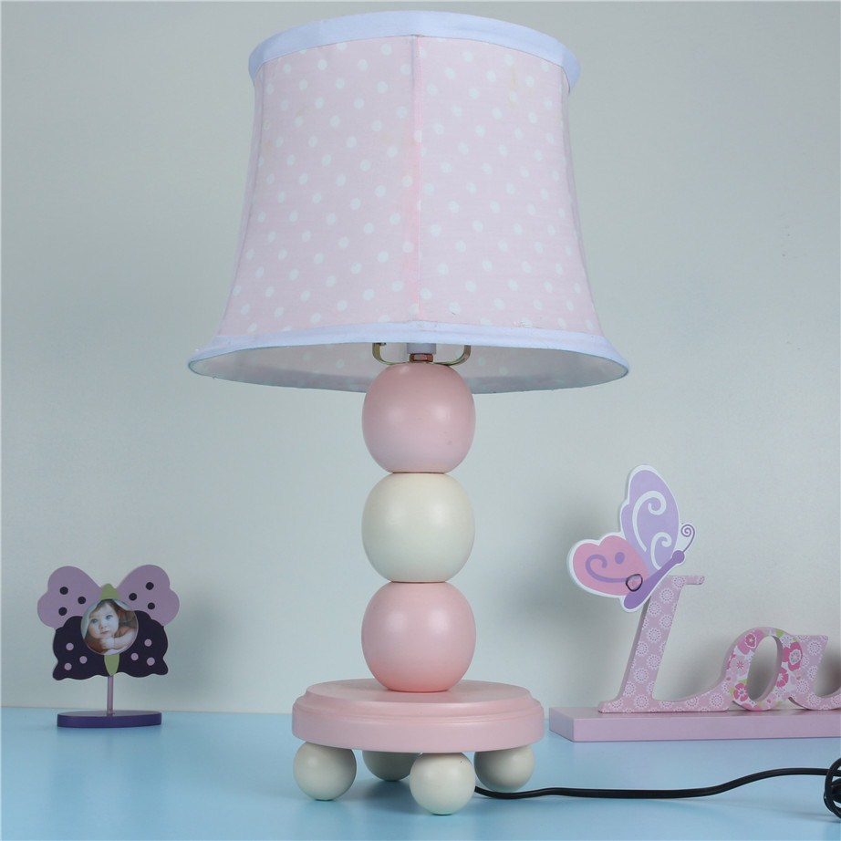 Accessories makeup picture more detailed picture about table table lamp girl pink round ball car wood table lamp romantic child table lamp home accessories geotapseo Gallery