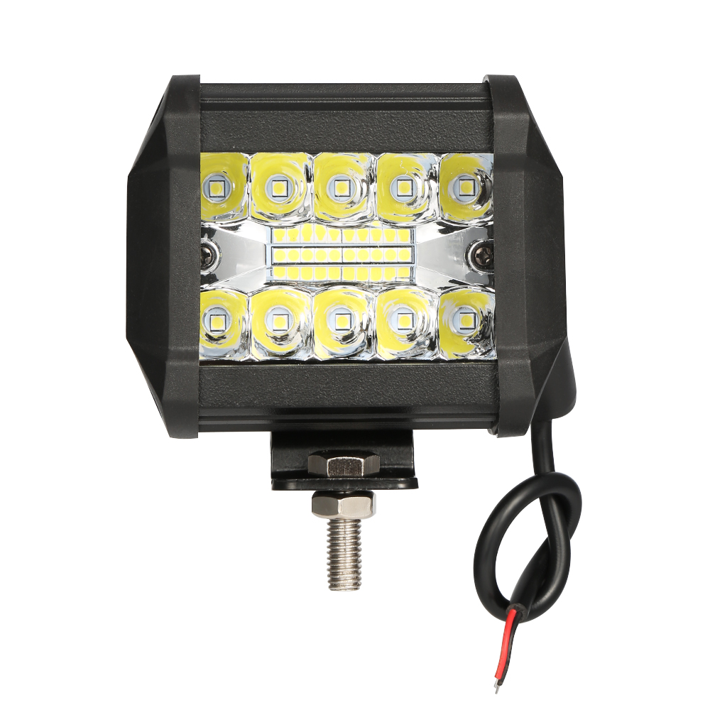 <font><b>4</b></font> Inch 60W <font><b>LED</b></font> Work Light <font><b>Bar</b></font> Combo <font><b>Offroad</b></font> Motorcycle Foglights <font><b>LED</b></font> Light <font><b>Bar</b></font> For Pickup 4WD 4x4 ATV UTV SUV Jeep Truck image