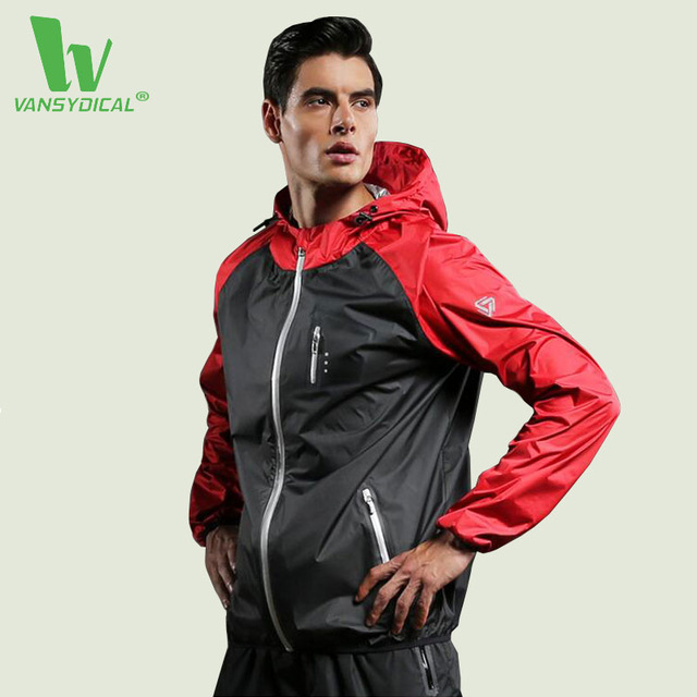 Male Jacket Sports Fitness Long Sleeves Hooded Coat Gym Soccer Basketball Outdoor Training Jogger Men Running Jackets vogue pu leather spliced color block hooded long sleeves hoodie for men