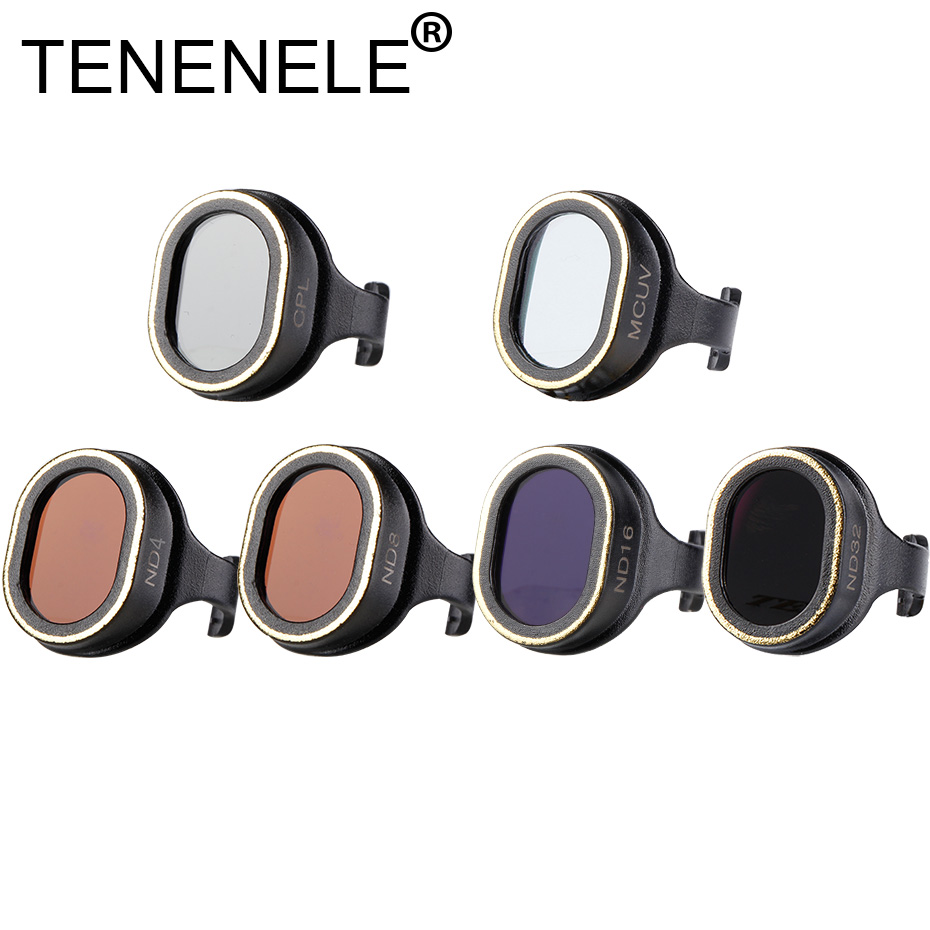 TENENELE For dji Spark Drone Filter Neutral Density Filters Set For DJI Spark UV C PL ND Camera Filter gimbals Drone Accessories|Drone Filter|Consumer Electronics - title=