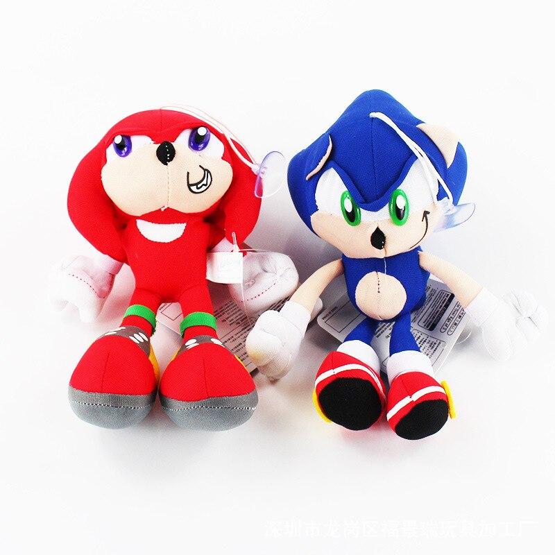 30cm Sonic the Hedgehog Plush Toy Soft Sonic Stuffed Doll