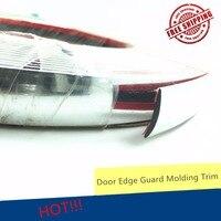 Universal Automobile 5m 20mm Chrome Car Styling Molding Strip Trim Self Adhesive Crash Protect Window Door