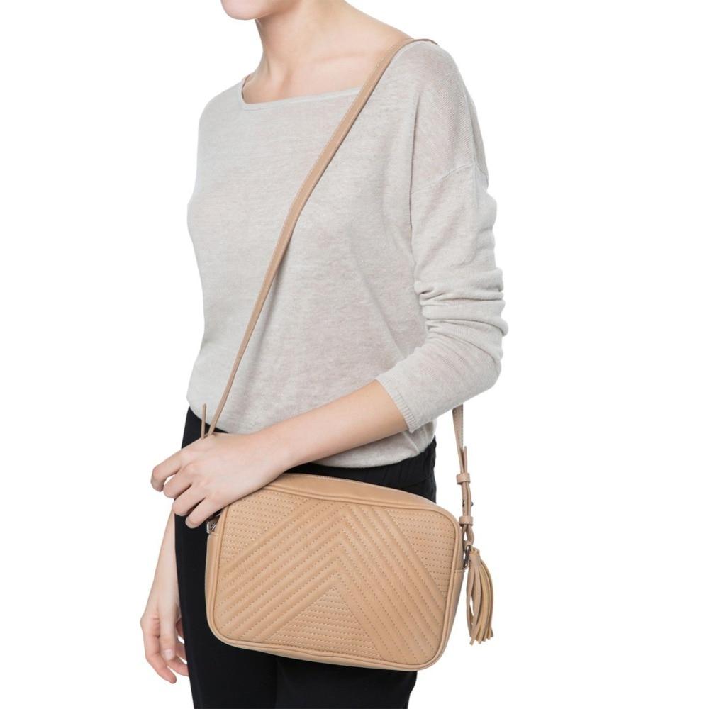 as mulheres bolsas de couro Ocasião : Versátil
