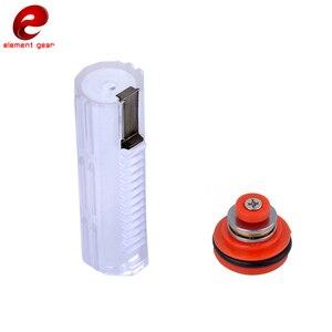 Image 3 - Element pistón ligero y cabezal de pistón para Airsoft AEG Ver. Accesorios de caza con caja de cambios 2 / 3