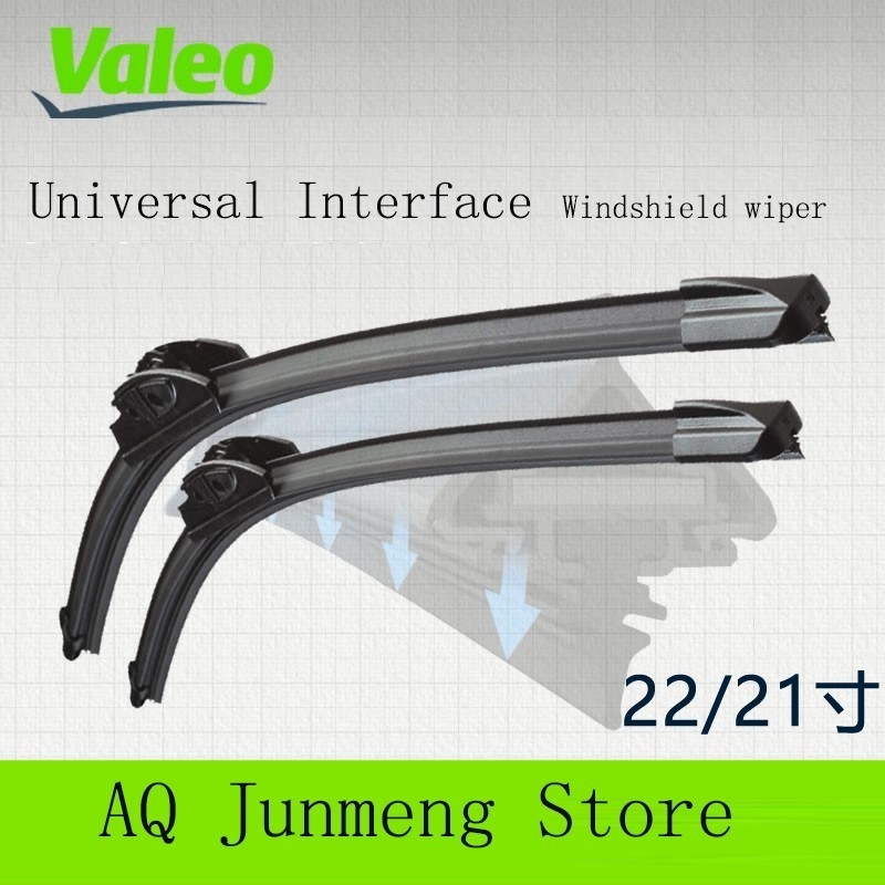 Valeo Preferred 22/21 Yes Wipers for Audi Tt Porsche Pula Thank For Parker Find The Range Rover(China)