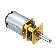 цены High Quality DC 6V 0.3A Reducer Geared Motor 60 RPM High Torque Mini Metal Rectangle Shape Electric DC Geared Motor For Robot