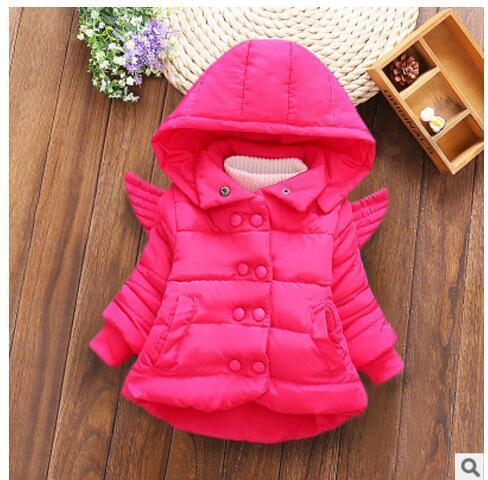 043346070 2018 nuevo bebé otoño e invierno abrigo niña vestido princesa ropa 100%  algodón lana niños 1-2 años ~ Super Deal June 2019
