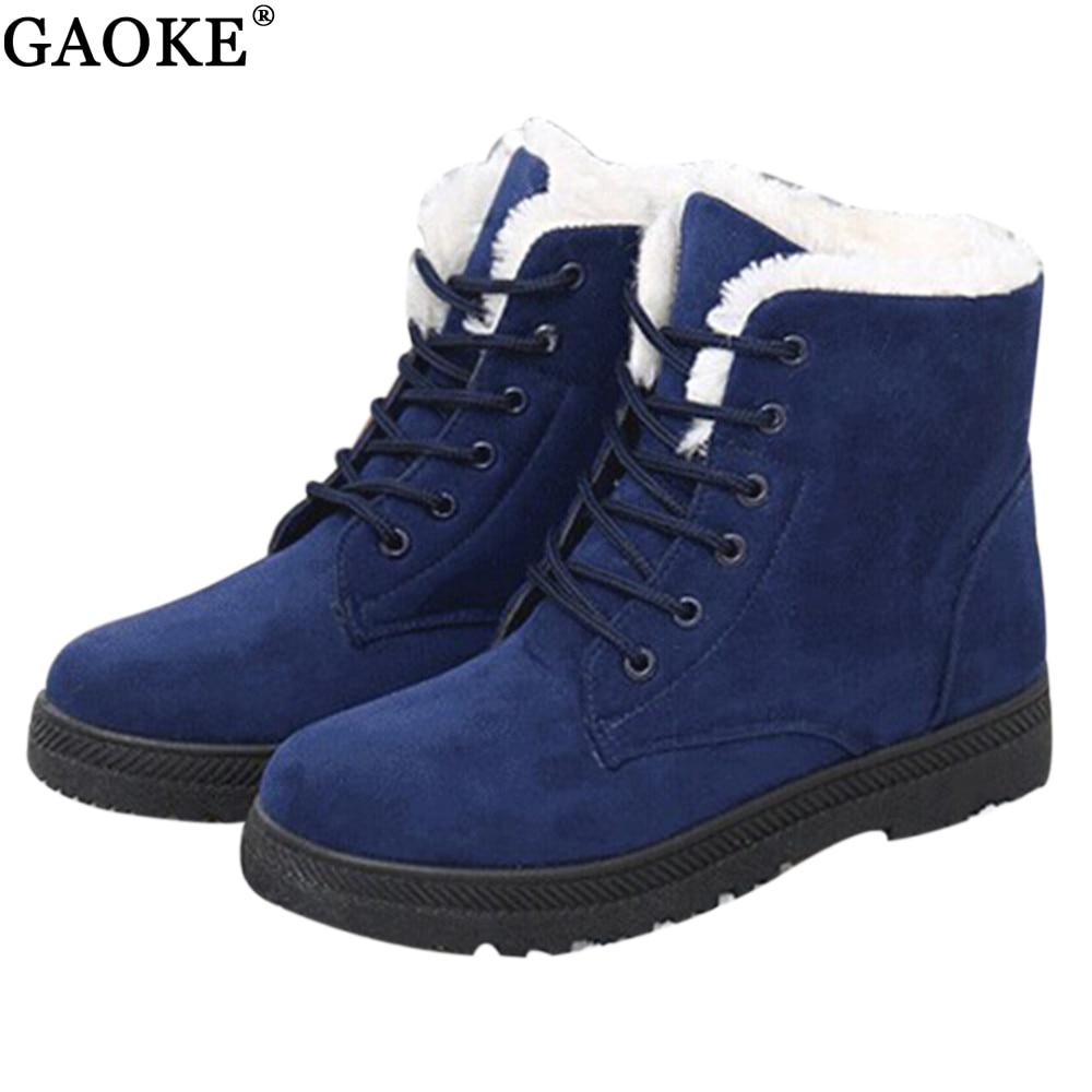 зимние ботинки зимние bolton женская обувь плюс размер обуви 2018 кабель модные зимние ботинки мод обувь