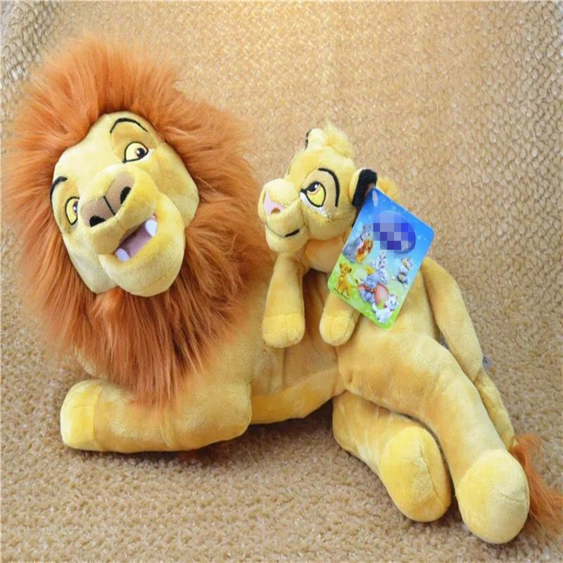 1pieces/lot 30cm Cartoon Plush The Lion Nala Simba Timon Doll Toy Decoration Of Household Car Decoration Christmas Gift
