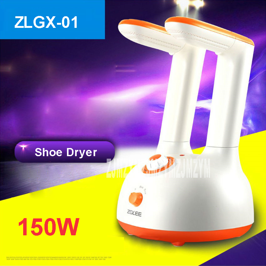 ZLGX-01 Shoes dries cooking deodorization sterilization Dry Dries Shoes 6 files Timing 220V/ 50 Hz milky white, sky blue Color 10w electric heated deodorization sterilization shoes dryer pink us plug 220v