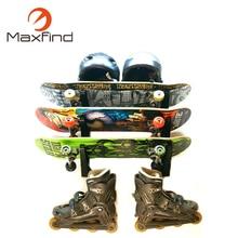 Skateboard Maxfind για 3 πίνακες για την αποθήκευση του συμβουλίου σας