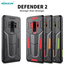 For Samsung galaxy S9 S9 Plus Note 9 phone case Nillkin Defender 2-in-1 Tough Shockproof Armor Back Cover For Galaxy S9 Note 9