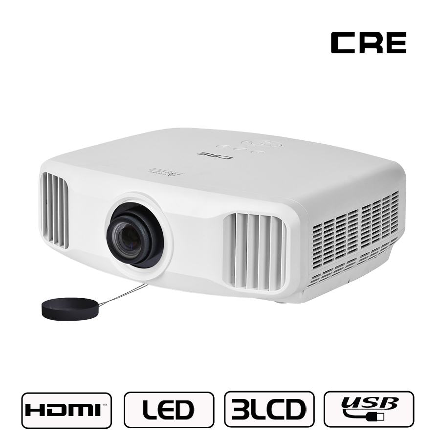 US $974 25 25% OFF Top Bluetooth Smart Projector Support 4K 3D Full HD Home  Movie 3300 lumens Android Short Throw Projector-in LCD Projectors from