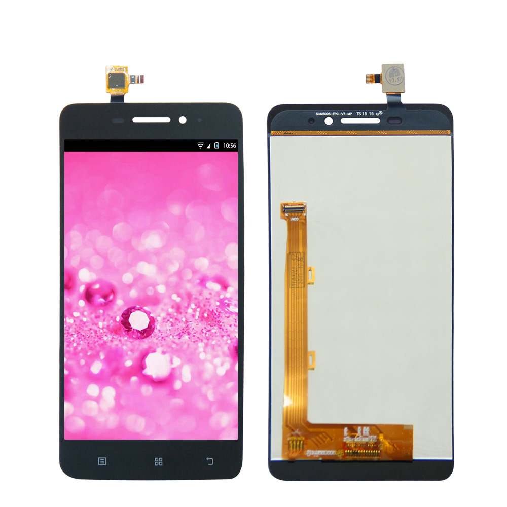 5.0 For Lenovo S60 s60w Touch Screen Digitizer LCD Display Assembly Black/White Color Free Shipping image