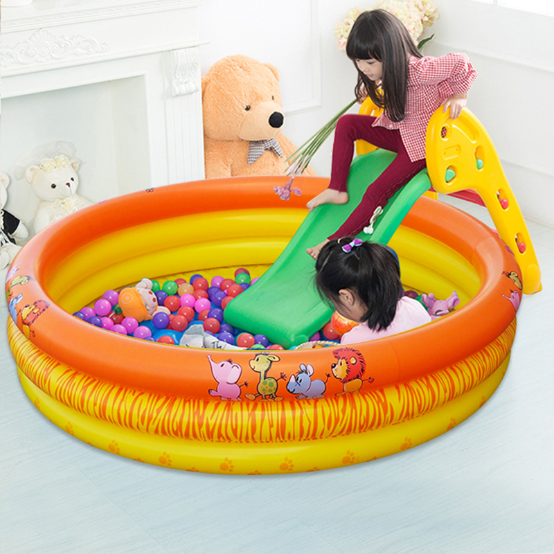 Outdoor Children Inflatable Pool Summer Bathtub Swimming Pool Children Inflatable Pool Baby Inflatable Paddling Pool For Newborn