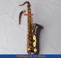 Professional New Black Nickel C Melody Saxophone High F# sax Abalone Key 2 Neck