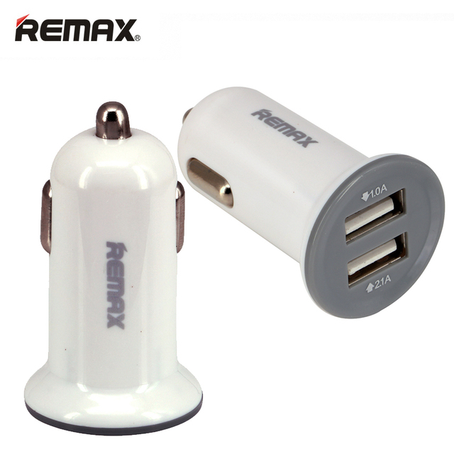Remax Smart Car Charger Adapter 2 1a Fast Charging Charge Travel Socket Outlet For Iphone Samsung Xiaomi Ipad Mp3 4 Tablet