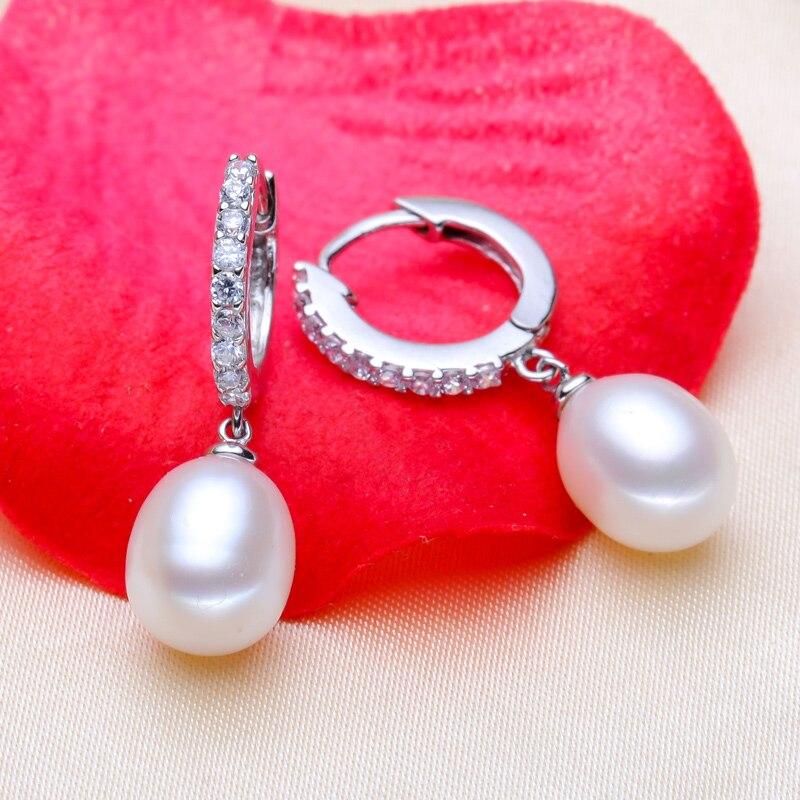 Ofis qadınları üçün YIKALAISI 925 Sterling Gümüşü Təbii - Moda zərgərlik - Fotoqrafiya 2