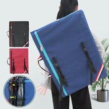 الإبداعية ضوء الوزن كبيرة الفن حقيبة للطلاب الاطفال الفن لوازم تخزين 4K دفتر الرسم الرسم حقيبة