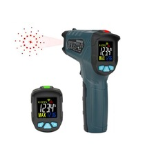 Digital infrared Thermometer HANMER IR1 Non-Contact Laser IR Infrared Digital Surface Temperature Thermometer Pyrometer Imager цена