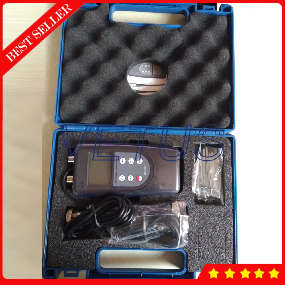 3 Piezoelectric Transducer Vibration Meter Vibrometer with VM6380-3 Displacement Velocity Acceleration Analyzer Vibrating Tester vibration meter speed accelerometer displacement measurement 0 1 to 199 9m s2 portable digital vibrometer analyzer tester