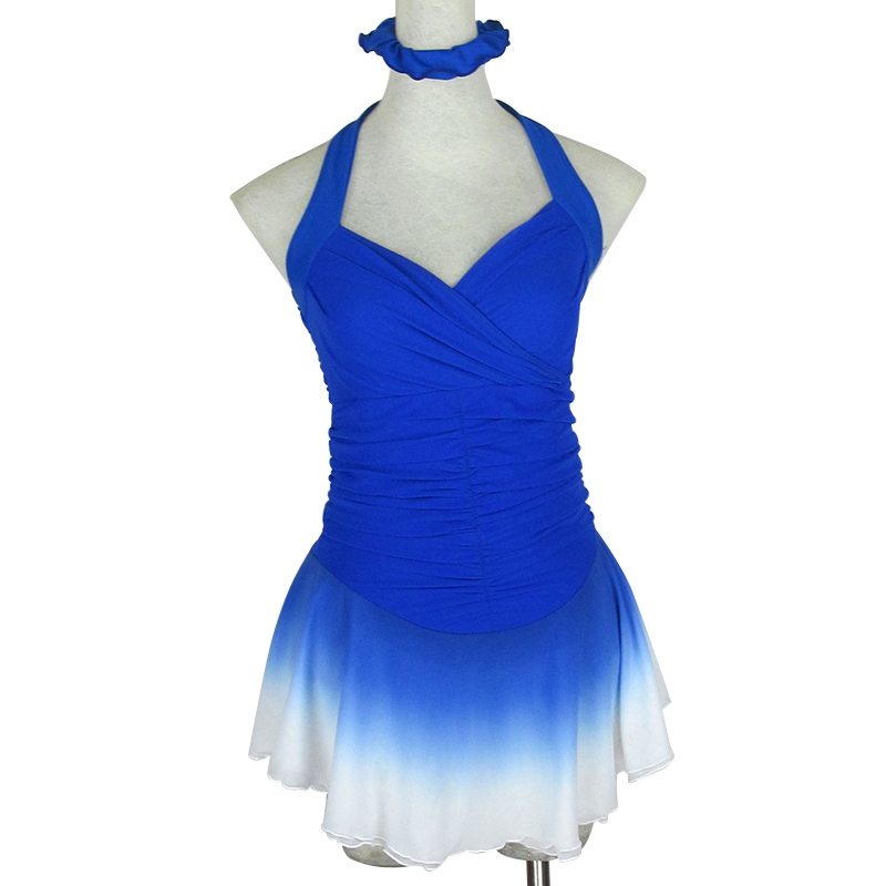 RUBU Custom Girls Figure Skating Dresses Graceful New Brand Ice Skating Dresses For Competition Skating Clothing