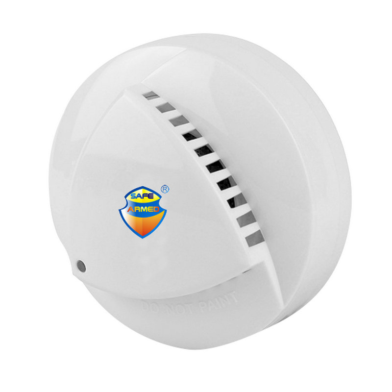 (1PCS) 4-Wire Network Photoelectric Smoke And Heat Detector Smoke And Heat Alarm For Home Alarm System