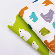 Various Sizes By Meters Cotton Twill Fabric Body-Friendly Breathable 100% Pure Quilting Material Cloth Crafts For Kids