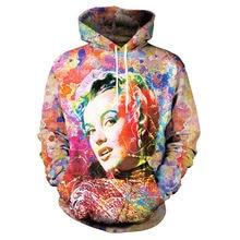 0d56b62b138f Buy 3d hoodie monroe and get free shipping on AliExpress.com