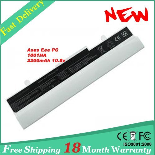 [Special Price] Battery for Asus Eee PC 1005 1005PEG 1101HGO 1001ha 1001p 1001PQ 1001PX 1005HA White
