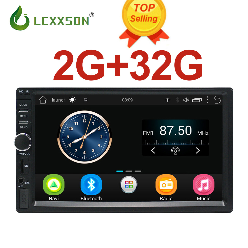 2Din Car Multimedia Player 2G 32G GPS Music Audio font b Video b font Android Car