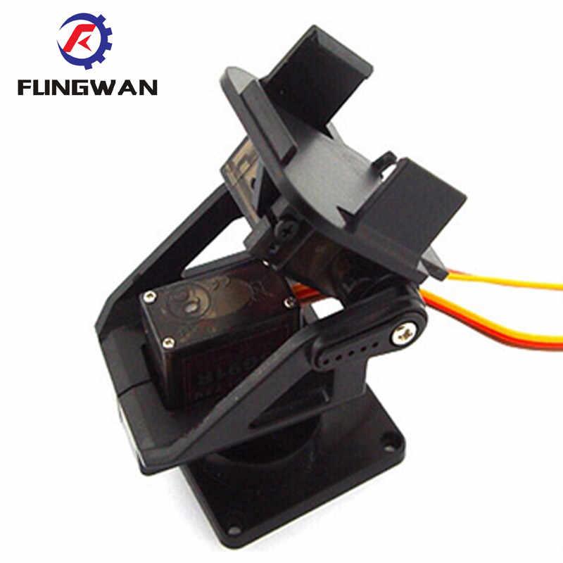 Servo beugel PT Pan/Tilt Camera Platform Anti-Vibration Camera Mount voor Vliegtuigen FPV gewijd nylon PTZ voor 9G SG90 MG90S