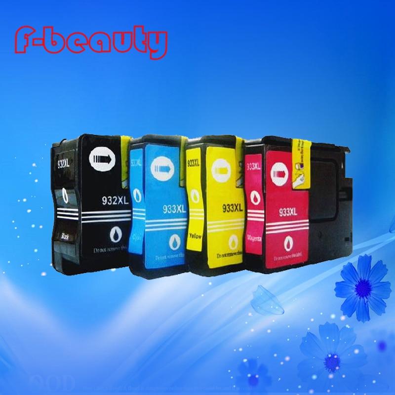 8842deadc9 Envío de la alta calidad 932 933 cartucho de tinta compatible para HP 6100  6600 6700 7110 cartucho de tinta vacío con la viruta