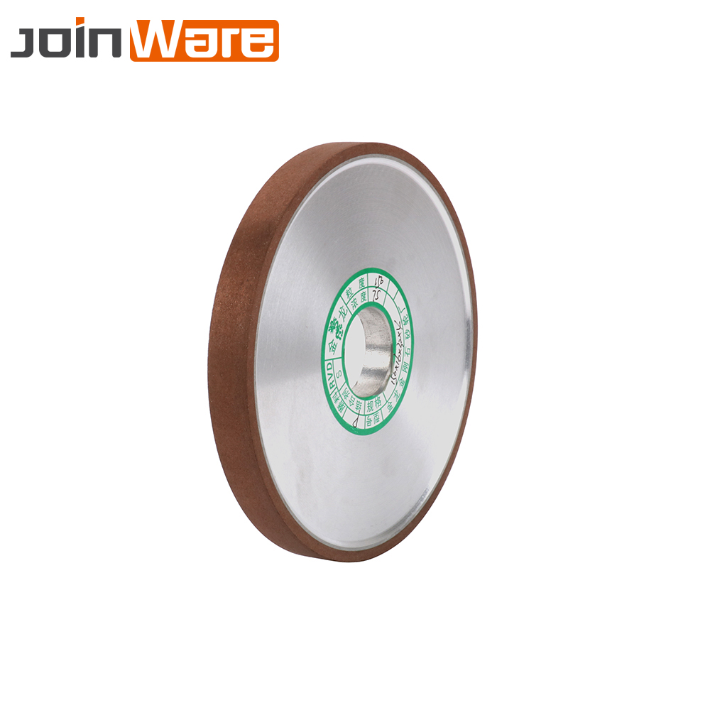 150x32x16x4mm Diamond Grinding Wheel Resin Bond Flat Grinder Disc Power Abrasive Tool For Milling Cutter Sharpener Tool 180#