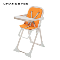 6 60M Kids Child Infand Saftey Feeding Chair Stable Baby Chair Collapsible Multifunctional High Chair For Mommy Daddy poltrona