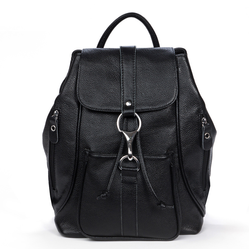 2016 new fashion genuine leather women backpacks casual real cowhide women school backpack travel shopping women shoulder bags