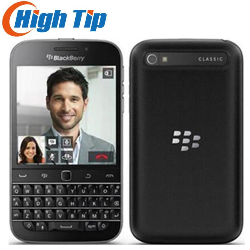 "Orijinal Blackberry Q20 klasik 3.5 ""16GB ROM 2GB RAM 4G LTE 8MP Smartphone çift çekirdekli Bluetooth WIFI QWERTY klavye cep telefonu"