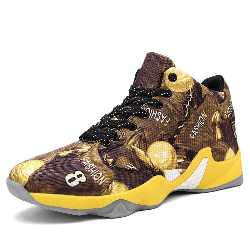 Shoe Basketball-Shoes Sneakers Damping-Cushion Sports Winter Autumn Men Wear-Resisting