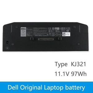 11.1V 97wh Original KJ321 Laptop Battery For DELL Latitude XT3 E6420 E6520 E6320 E5420 Slice base battery