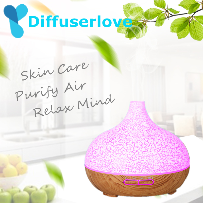 Diffuserlove 300ml Air Humidifier Household Ultrasonic Essential Oil Diffuser Humidificador Aroma Diffusor 7Color LED Mist MakerDiffuserlove 300ml Air Humidifier Household Ultrasonic Essential Oil Diffuser Humidificador Aroma Diffusor 7Color LED Mist Maker