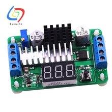 10 Uds LTC1871 100W/6A DC fuente de alimentación convertidor de aumento DC 3,5 V 30V 5v 12v 6a 100W convertidores ajustables + voltímetro LED rojo