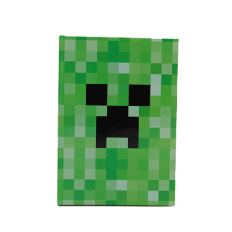 My World Minecraft Notebook Cute Hard Foil Cover Notepad for School Writing  Diary Agenda Planner Note Book Stationery Gift pu leather cover planner notebook travel journal diary book exercise composition binding note notepad gift stationery 2017