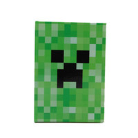 My World Minecraft Notebook Cute Hard Foil Cover Notepad For School Writing Diary Agenda Planner Note