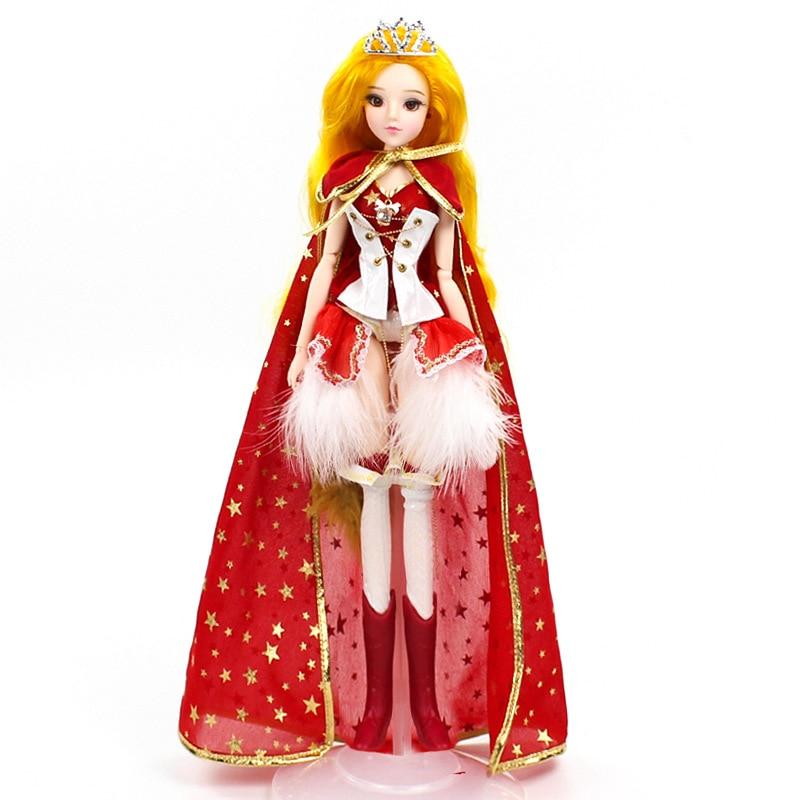 Nouveau 14 poupées articulées mobiles de douze Constellations Bjd jouets avec des accessoires de vêtements nue corps poupées jouet pour filles cadeau