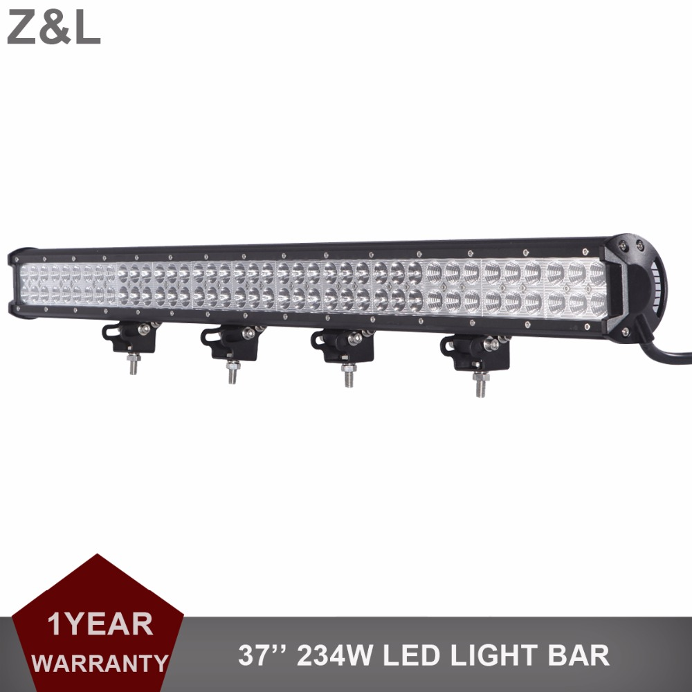 37 Inch 234W Offroad LED Light Bar Driving Lamp Combo Car ATV Auto UTE Boat Yacht Wagon Pickup Camper SUV 4X4 12V 24V Headlight 60w led light bar 8 offroad 12v 24v car truck 4wd suv atv 4x4 auto trailer wagon ute awd boat spot driving fog lamp headlight